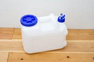 アウトドアのマストアイテム!ウォータータンク(水タンク)選