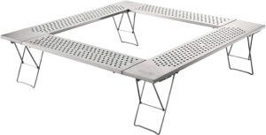 囲炉裏テーブルでキャンプを安全に!ファミリーにおすすめ囲炉裏テーブル特集