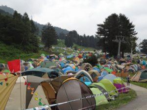 野外フェスのテント泊におすすめ!野外フェスのテント泊に必要なアイテム集!