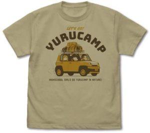 あのゆるキャン△Tシャツも!キャンプにおすすめ人気Tシャツ