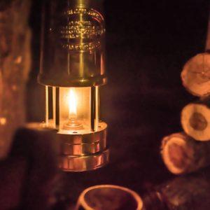 ラピュタパズーのランプがソロキャンプにもおすすめ!マイナーズランプ