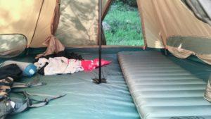 ソロキャンプにおすすめ!人気のキャンプマットで快眠を手に入れよう